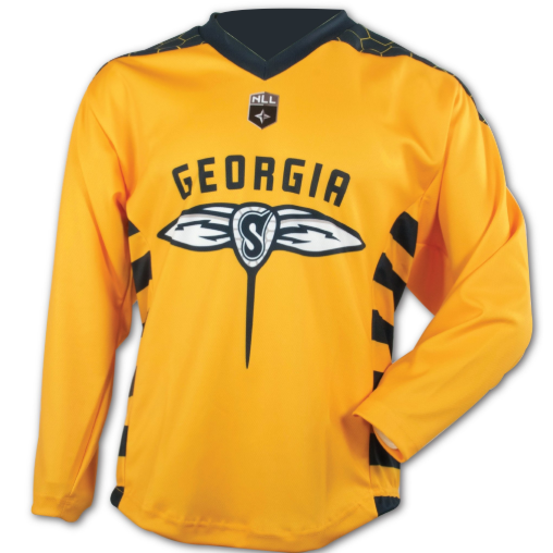 Adult Replica Georgia Swarm Blank Yellow Jersey