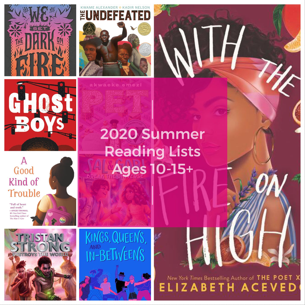 2020 Summer Reading Lists (Middle School/Young Adult)