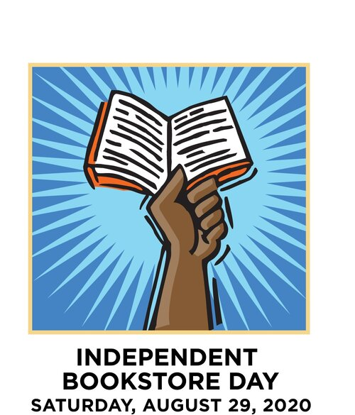Join Us - Indie Bookstore Day Events - August 29, 2020