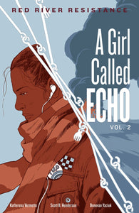 Katherena Vermette author A Girl Called Echo: Red River Resistance
