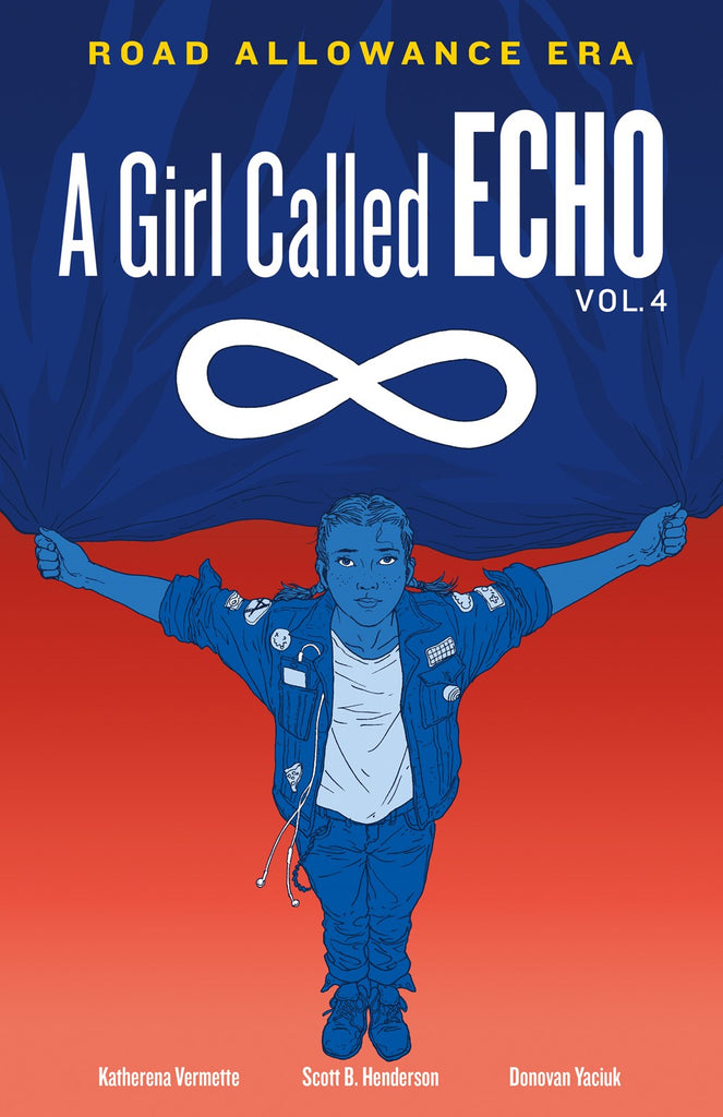 Katherena Vermette author A Girl Called Echo: Road Allowance Era