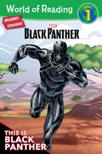 Load image into Gallery viewer, World of Reading: This Is Black Panther