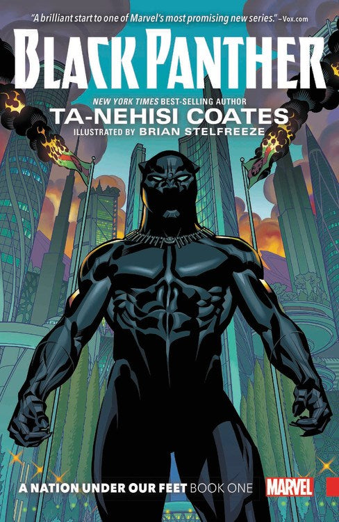 Ta-nehisi Coates author Black Panther A Nation Under Our Feet 1