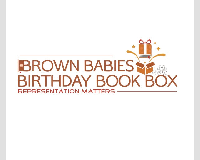 Birthday Book Box Brown Babies Books