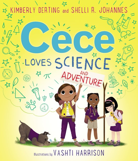 Kimberly Derting author Cece Loves Science and Adventure