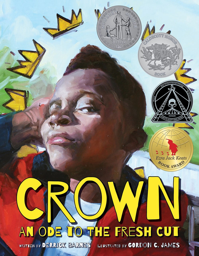 Derrick Barnes author Crown an Ode to the Fresh Cut