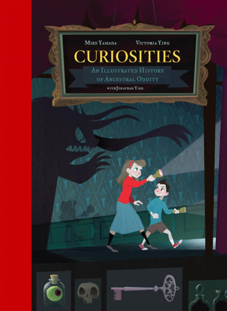 Mike Yamada and Victoria Ying author Curiosities: An Illustrated History of Ancestral Oddity