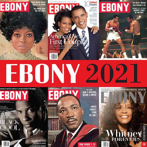 Ebony 2021 Wall Calendar