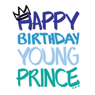 Happy Birthday Young Prince Card