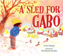 Load image into Gallery viewer, Emma Otheguy author A Sled for Gabo