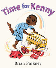 Load image into Gallery viewer, Brian Pinkney author Time for Kenny