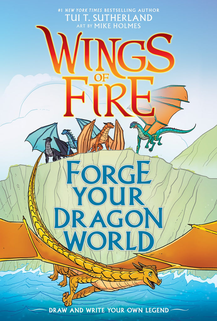 Tui T. Sutherland author Wings of Fire Forge Your Dragon World
