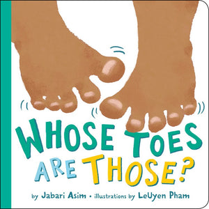 Jabari Asim author Whose Toes Are Those