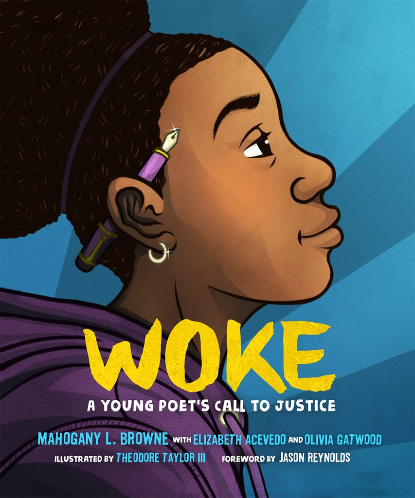 Mahogany L. Browne author Woke: A Young Poet's Call to Justice