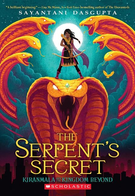 Sayantani Dasgupta author The Serpent's Secret