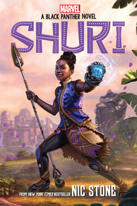 Nic Stone author Shuri: A Black Panther Novel, Volume 1