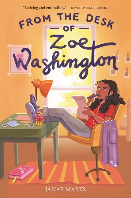 Janae Marks authors From the Desk of Zoe Washington