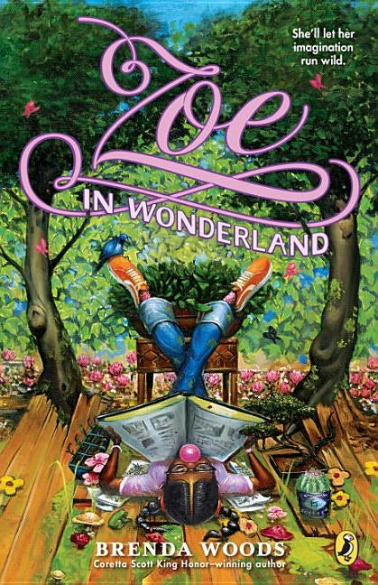 Brenda Woods author Zoe in Wonderland