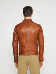 Ronnie Brown Leather Jacket