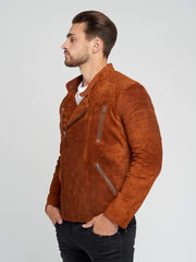Sculpt Australia mens leather jacket Cameron Suede Leather Jacket