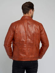 Sculpt Australia mens leather jacket Casey Tanned Leather Jacket