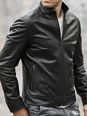 Sculpt Australia mens leather jacket Classic Motorcycle Leather Jacket