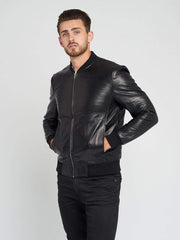 Sculpt Australia mens leather jacket Classic Slim Fit Leather Jacket