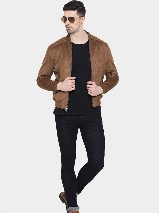 Sculpt Australia mens leather jacket James Suede Leather Jacket