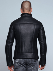 Sculpt Australia mens leather jacket Jonah Shearling Leather Jacket