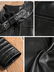 Sculpt Australia mens leather jacket Lambskin Leather Bomber jacket