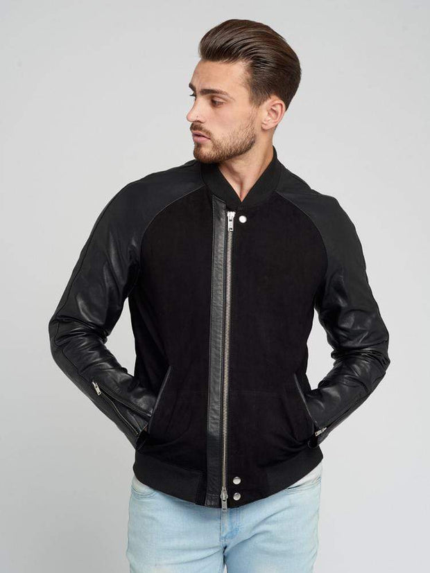 Sculpt Australia mens leather jacket Mattino - Suede Leather Jacket