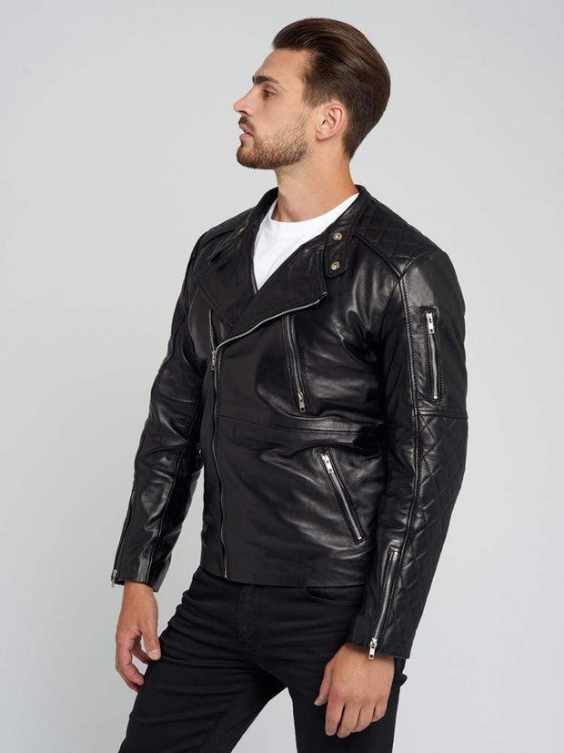 Sculpt Australia mens leather jacket Muriel Black Leather Jacket