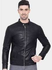 Sculpt Australia mens leather jacket Thomas Black Leather Jacket