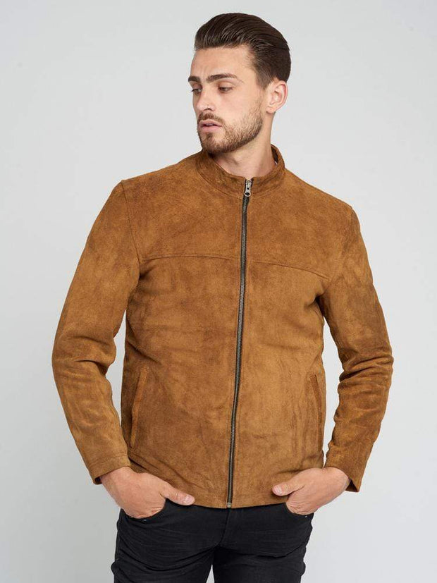 Sculpt Australia mens leather jacket Will Suede Leather Jacket