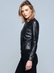 Sculpt Australia womens leather jacket Aria Black Leather Jacket