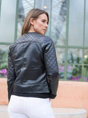Sculpt Australia womens leather jacket Sculpt's Classic Womens Black leather Jacket