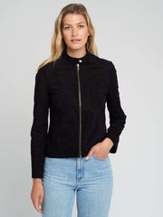 Sculpt Australia womens leather jacket Sculpt's Goat Suede Jacket