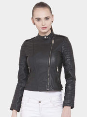 Sculpt Australia womens leather jacket Shisha Black Leather Jacket