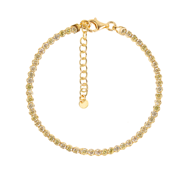 LIME TRACY GOLD BRACELET