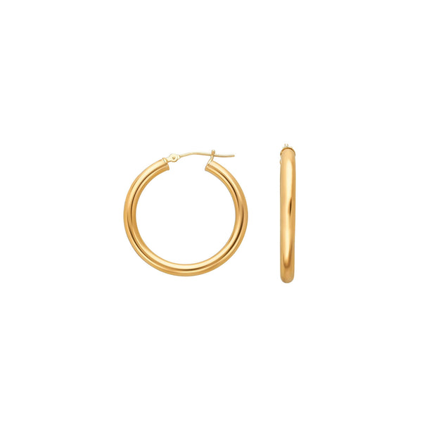 AMALFI HOOPS GOLD (S) | ALEYOLÉ Jewelry