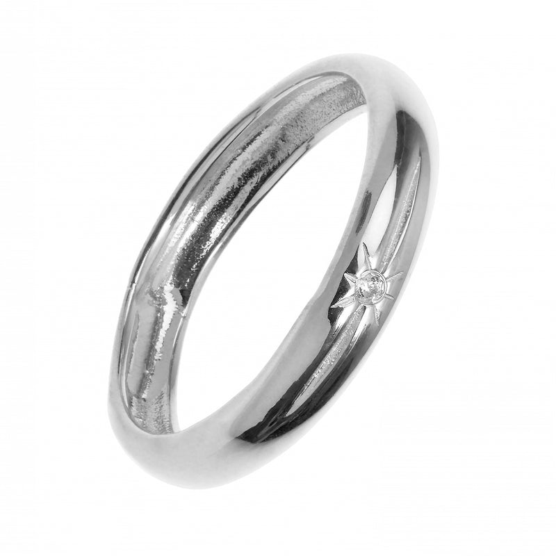 HONEYMOON SILVER RING