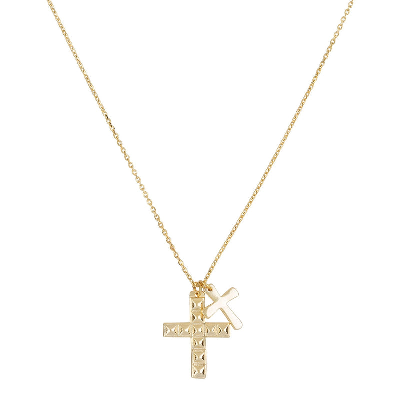 DOUBLE CROSS GOLD