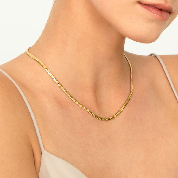 ALMOND CHAIN GOLD