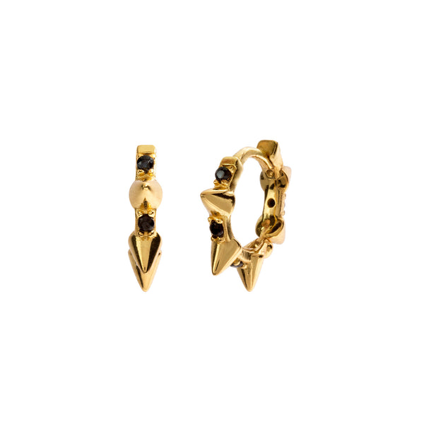 BLACK DEVOTED GOLD | ALEYOLÉ Jewelry