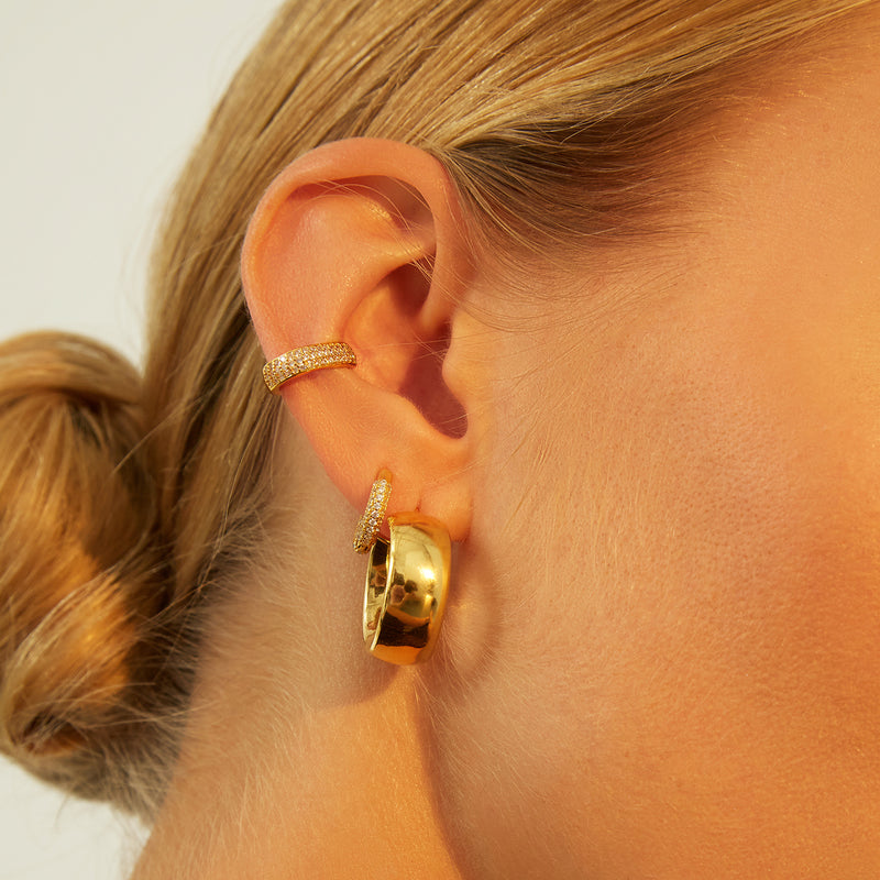 BOLD HOOPS GOLD