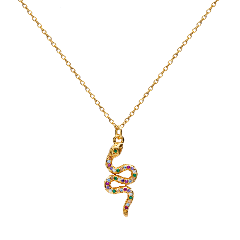 CALOBRA GOLD NECKLACE