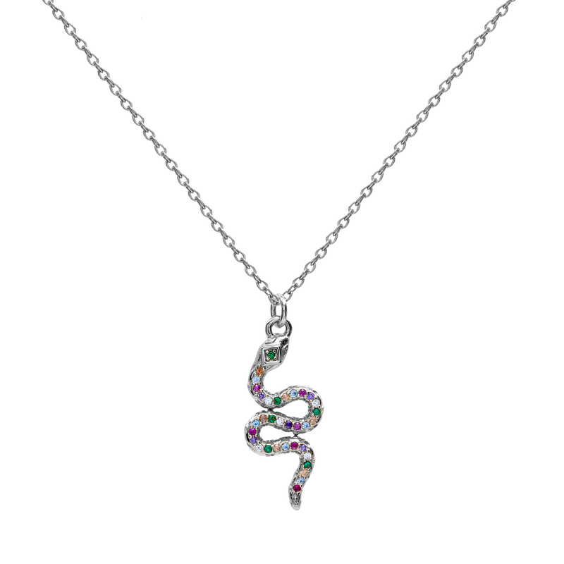CALOBRA SILVER NECKLACE