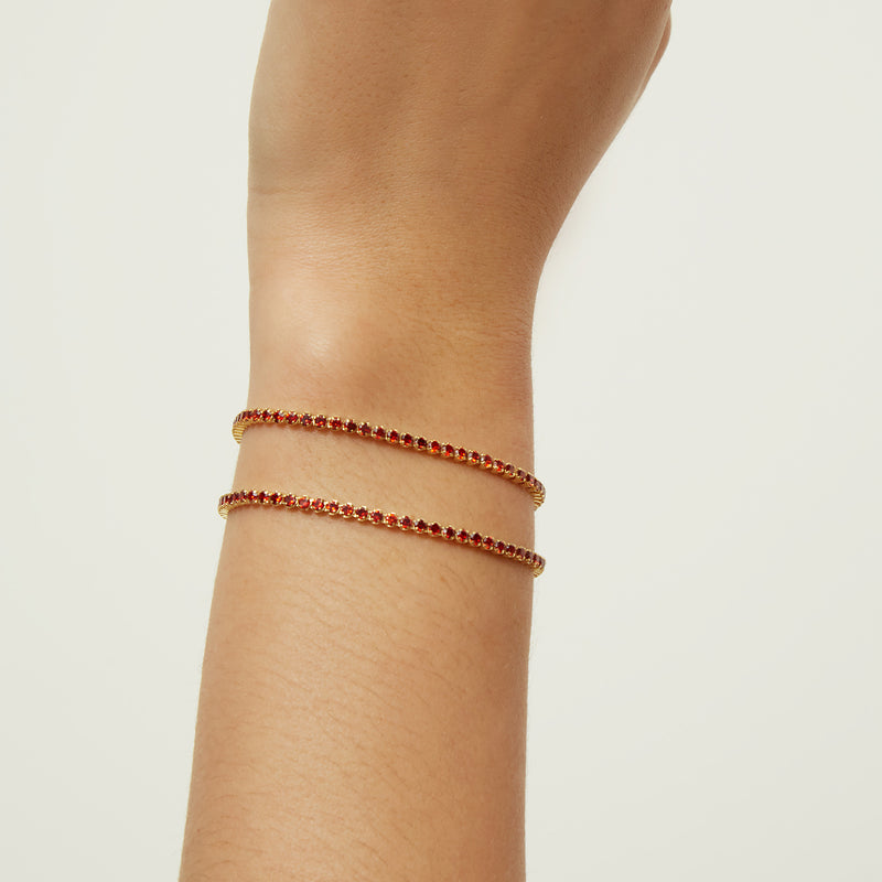 CHERRY TRACY GOLD BRACELET
