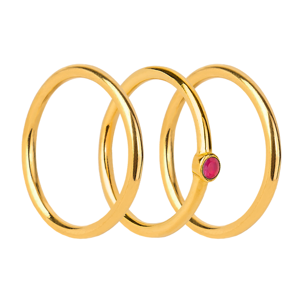 GARNET ORBIT GOLD