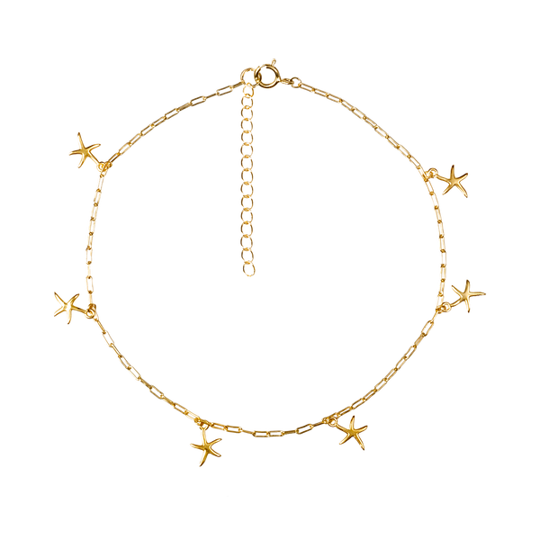 STARFISH GOLD ANKLET